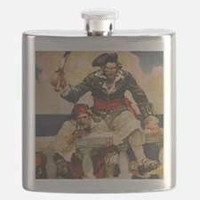 Blackbeard the Buccanneer  Flask