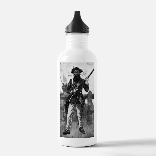 Blackbeard at attentio Water Bottle
