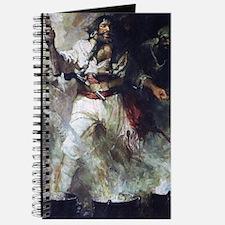 Blackbeard in Smoke and Flames Journal