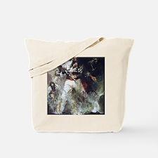 Blackbeard in Smoke and Flames Tote Bag