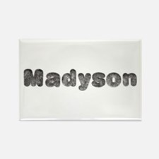 Madyson Wolf Rectangle Magnet