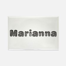 Marianna Wolf Rectangle Magnet