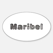 Maribel Wolf Oval Decal