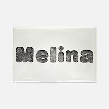 Melina Wolf Rectangle Magnet