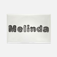 Melinda Wolf Rectangle Magnet