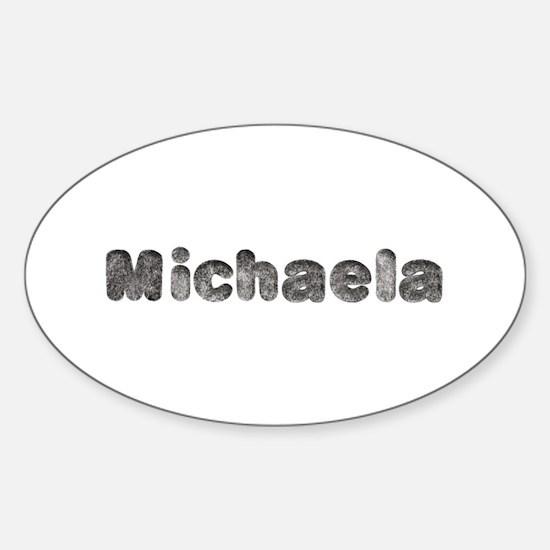 Michaela Wolf Oval Decal