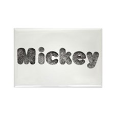 Mickey Wolf Rectangle Magnet