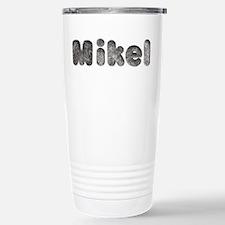 Mikel Wolf Ceramic Travel Mug