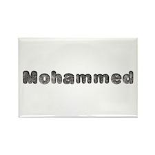 Mohammed Wolf Rectangle Magnet