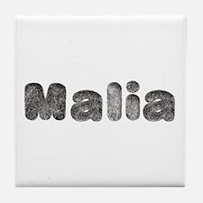 Malia Wolf Tile Coaster