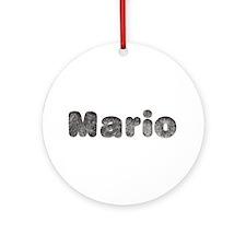 Mario Wolf Round Ornament