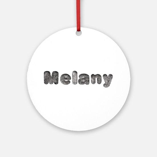 Melany Wolf Round Ornament