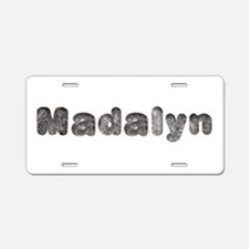 Madalyn Wolf Aluminum License Plate