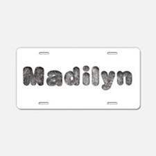 Madilyn Wolf Aluminum License Plate