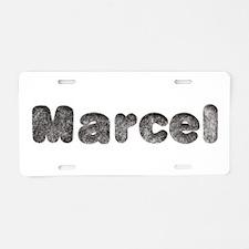 Marcel Wolf Aluminum License Plate