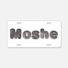 Moshe Wolf Aluminum License Plate
