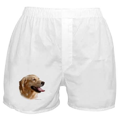 Golden Retriever (Female) Head Study Boxer Shorts