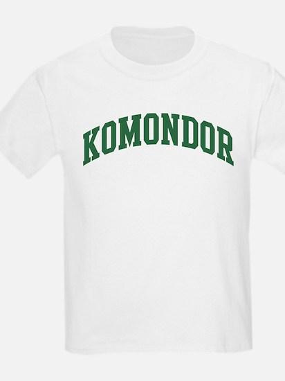 Komondor (green) T-Shirt