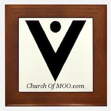 Church of MOO Framed Tile