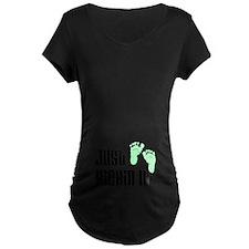 Just Kickin It Maternity T-Shirt