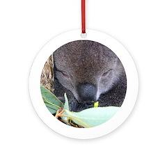 Koala Christmas Ornament (Round)