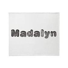 Madalyn Wolf Throw Blanket