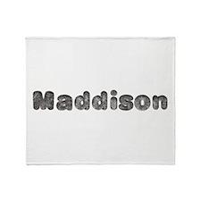 Maddison Wolf Throw Blanket