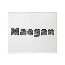 Maegan Wolf Throw Blanket
