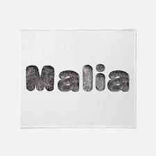 Malia Wolf Throw Blanket