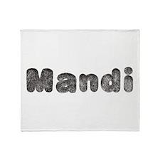 Mandi Wolf Throw Blanket
