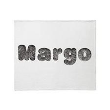 Margo Wolf Throw Blanket