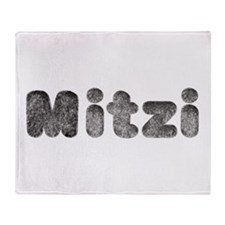 Mitzi Wolf Throw Blanket