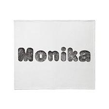 Monika Wolf Throw Blanket