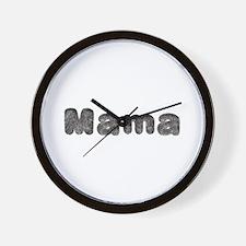 Mama Wolf Wall Clock