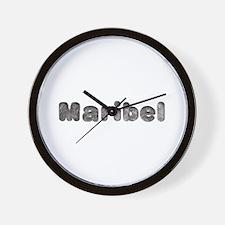 Maribel Wolf Wall Clock