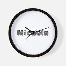 Micaela Wolf Wall Clock
