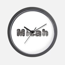 Micah Wolf Wall Clock