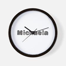 Michaela Wolf Wall Clock