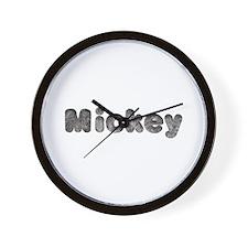 Mickey Wolf Wall Clock