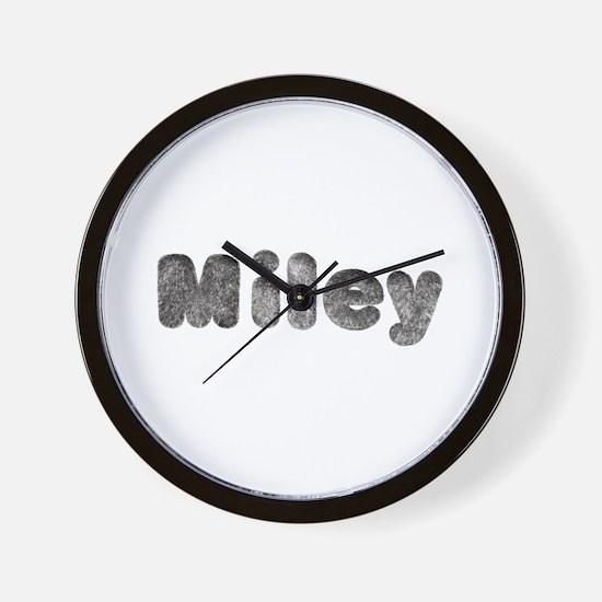 Miley Wolf Wall Clock