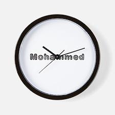Mohammed Wolf Wall Clock