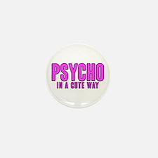 Psycho Cutie Mini Button (10 pack)