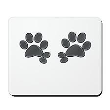 Gray Double Dews Mousepad