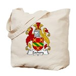 Zachary Family Crest Tote Bag