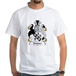 Younger Family Crest White T-Shirt