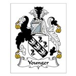 Younger Family Crest Small Poster