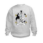 Younger Family Crest Kids Sweatshirt