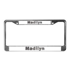 Madilyn Wolf License Plate Frame
