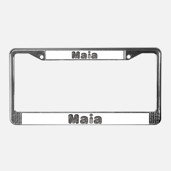Maia Wolf License Plate Frame