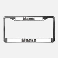 Mama Wolf License Plate Frame